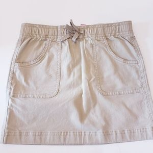 NWT Vineyard Vines girls khaki skirt tan size 7